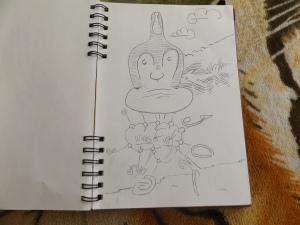 Sketchbook Drawing 019