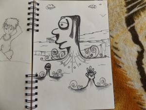 Sketchbook Drawing 020
